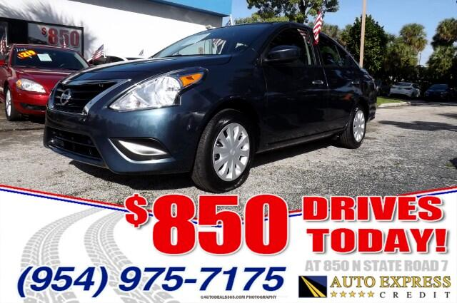 2016 Nissan Versa 850 DRIVES AT 850 N STATE ROAD 7 Thats right ONLY 850 bucks can get you drivi