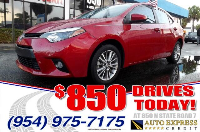 2015 Toyota Corolla The Toyota Corolla is a front-wheel drive five-passenger compact sedan well-kno
