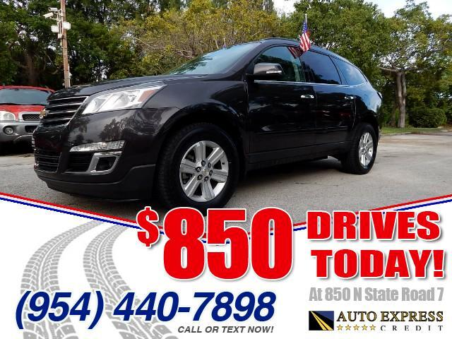 2014 Chevrolet Traverse The Chevrolet Traverse is a large crossover SUV able to haul a truckload of