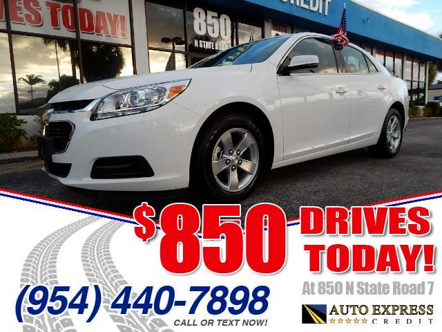 2016 Chevrolet Malibu 850 DRIVES AT 850 N STATE ROAD 7 Thats right ONLY 850 bucks can get you d