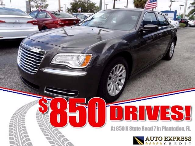 2014 Chrysler 300 The Chrysler 300 is a full-size four-door sedan that comes in a variety of models