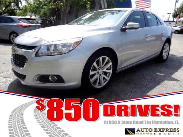 2016 Chevrolet Malibu Limited 850 DRIVES AT 850 N STATE ROAD 7 Thats right ONLY 850 bucks can g