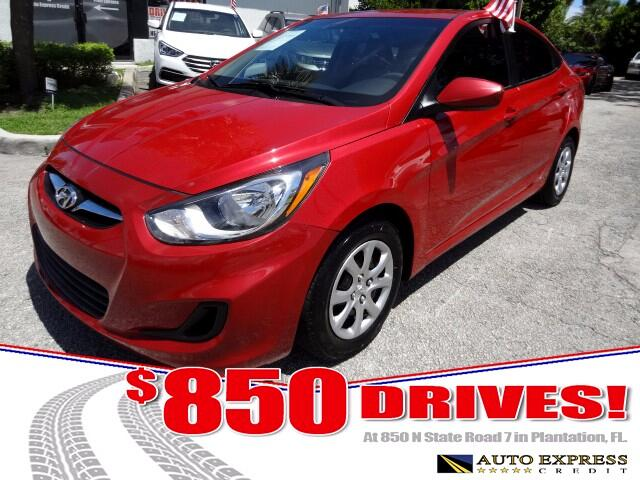2014 Hyundai Accent Hyundai Accent comes in two body styles a five-door hatchback and a four-door s