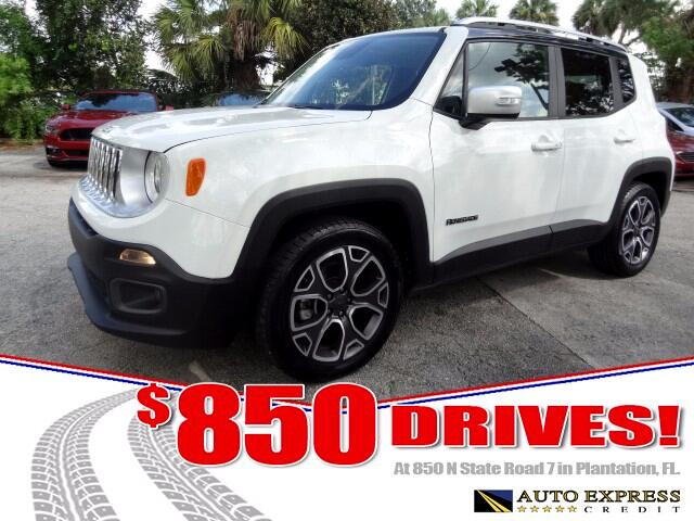 2016 Jeep Renegade The Jeep Renegade is capable and affordably pricedIts also cute in the eyes of