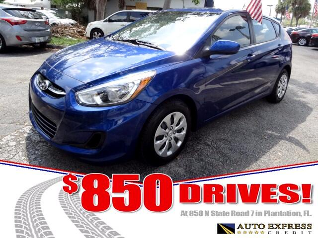 2016 Hyundai Accent The Hyundai Accent is an attractive value-oriented subcompact that comes in two