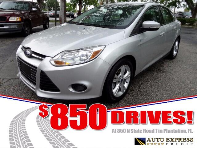 2014 Ford Focus Available in four-door sedan and five-door hatchback models Ford Focus offers sharp