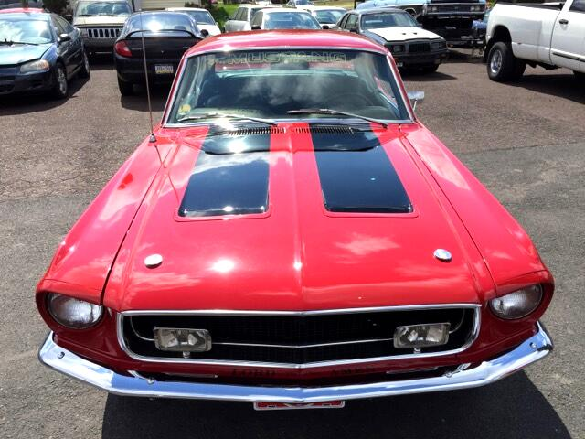 1968 Ford Shelby Mustang 1968 FORD MUSTANG GT/CS California Special