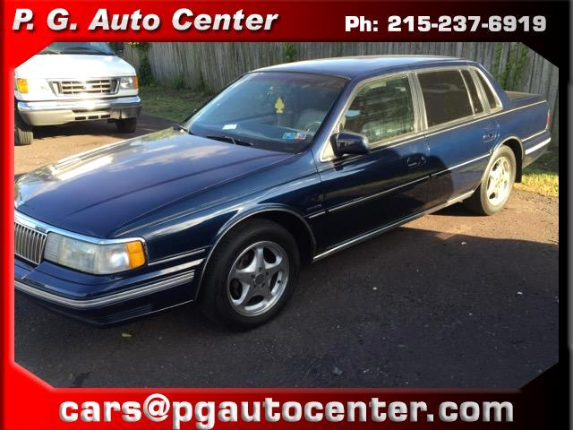 1991 Lincoln Continental Base