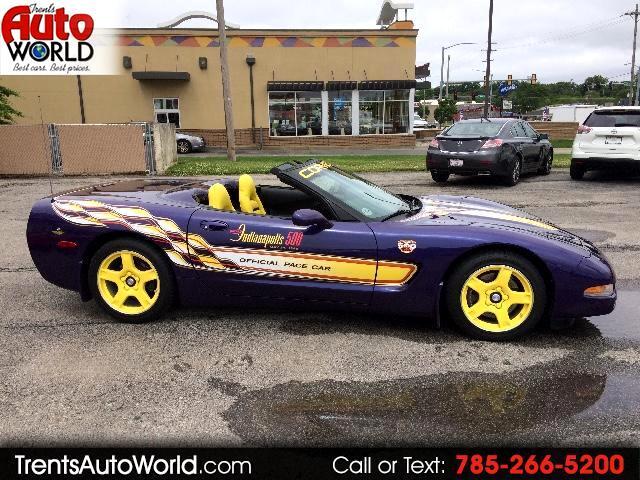 1998 Chevrolet Corvette Convertible Official Indy 500 Pace Car