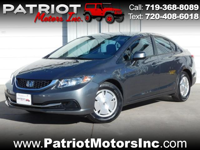 2013 Honda Civic HF Sedan 5-Speed AT