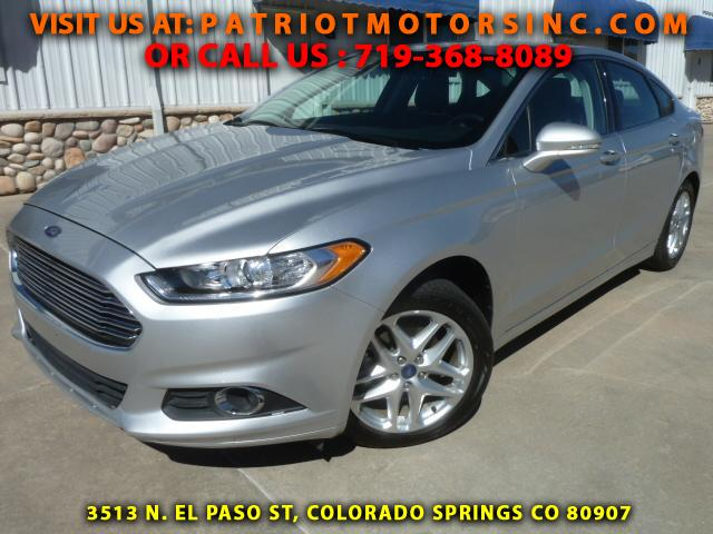 used ford fusion for sale colorado springs co cargurus. Black Bedroom Furniture Sets. Home Design Ideas