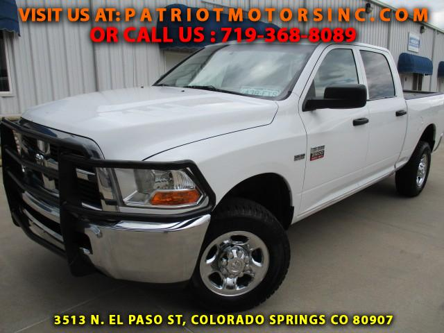 used 2012 dodge ram 2500 for sale in colorado springs co