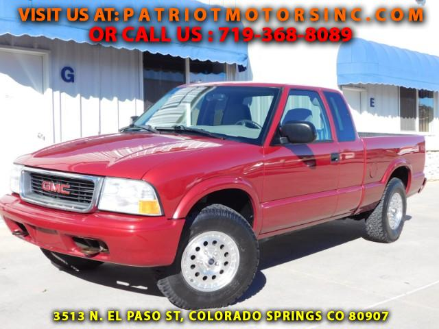 Used 2002 gmc sonoma for sale in colorado springs co 80907 for Gmc motor city colorado springs