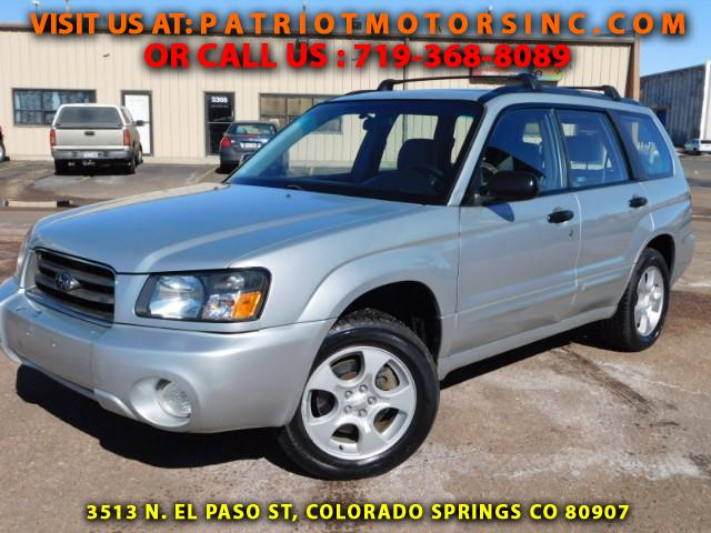 Used 2003 Subaru Forester 2 5 Xs For Sale In Colorado