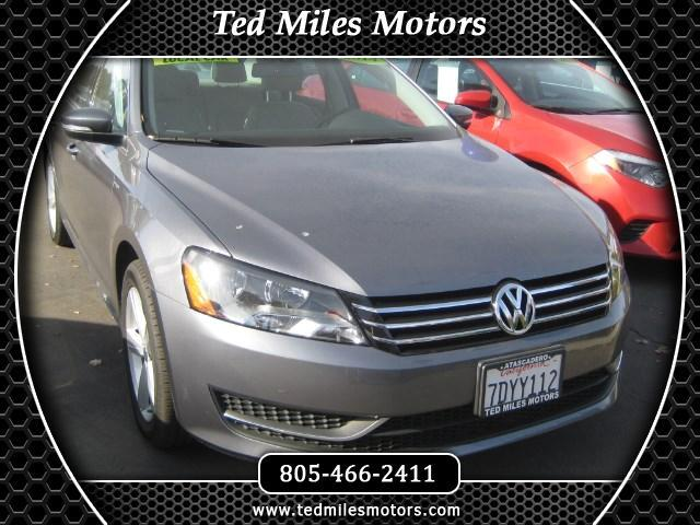 2014 Volkswagen Passat THIS QUALITY VEHICLE IS EXACTLY WHAT YOU WOULD EXPECT FROM TED MILES MOTORS