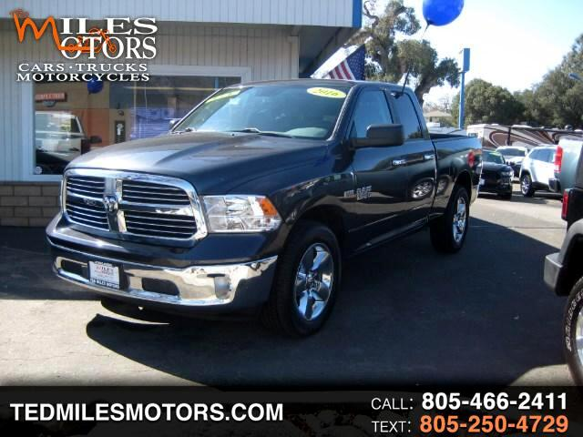 2016 RAM 1500 BIG HORN QUAD CAB  4X4 SHORT BED