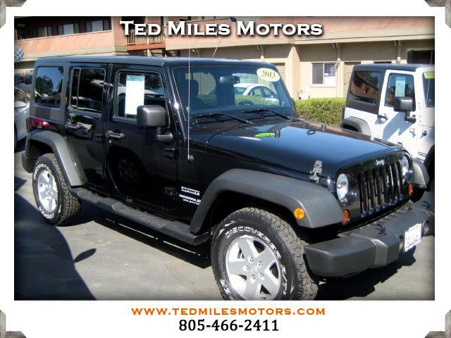 2013 Jeep Wrangler THIS QUALITY VEHICLE IS EXACTLY WHAT YOU WOULD EXPECT FROM TED MILES MOTORS VIN