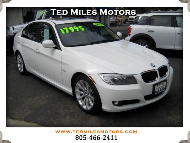 2011 BMW 3-Series THIS QUALITY VEHICLE IS EXACTLY WHAT YOU WOULD EXPECT FROM TED MILES MOTORS VIN