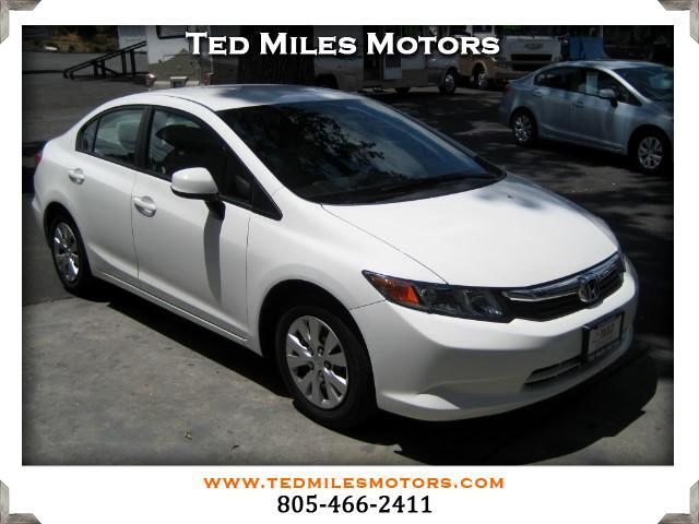 2012 Honda Civic THIS QUALITY VEHICLE IS EXACTLY WHAT YOU WOULD EXPECT FROM TED MILES MOTORS VIN