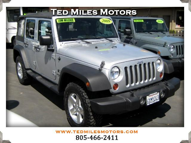 2009 Jeep Wrangler THIS QUALITY VEHICLE IS EXACTLY WHAT YOU WOULD EXPECT FROM TED MILES MOTORS VIN