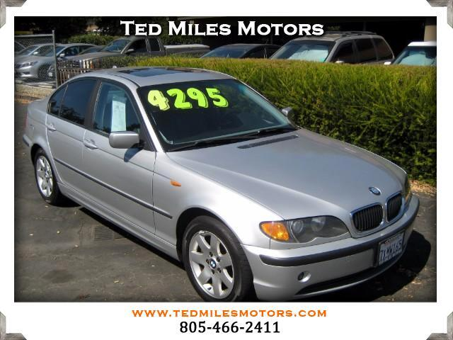 2003 BMW 3-Series THIS QUALITY VEHICLE IS EXACTLY WHAT YOU WOULD EXPECT FROM TED MILES MOTORS VIN