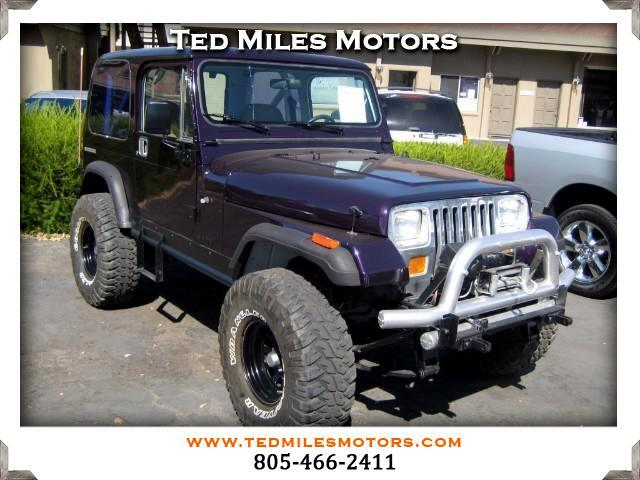 1988 Jeep Wrangler THIS QUALITY VEHICLE IS EXACTLY WHAT YOU WOULD EXPECT FROM TED MILES MOTORS VIN