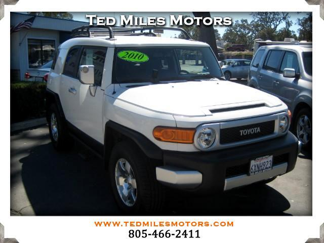 2010 Toyota FJ Cruiser THIS QUALITY VEHICLE IS EXACTLY WHAT YOU WOULD EXPECT FROM TED MILES MOTORS