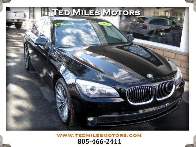 2012 BMW 7-Series THIS QUALITY VEHICLE IS EXACTLY WHAT YOU WOULD EXPECT FROM TED MILES MOTORS VIN