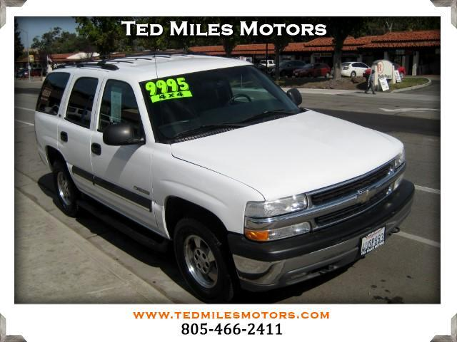 2002 Chevrolet Tahoe THIS QUALITY VEHICLE IS EXACTLY WHAT YOU WOULD EXPECT FROM TED MILES MOTORS V