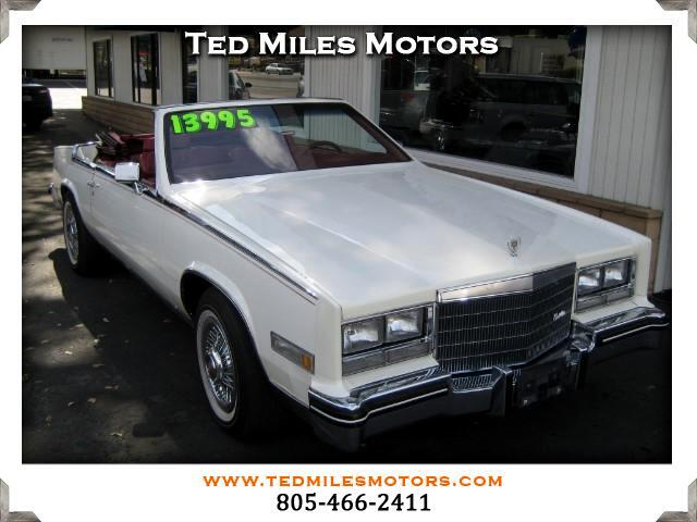 1985 Cadillac Eldorado THIS QUALITY VEHICLE IS EXACTLY WHAT YOU WOULD EXPECT FROM TED MILES MOTORS