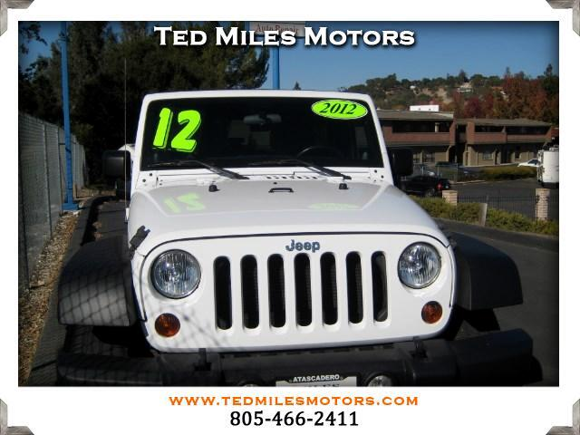 2012 Jeep Wrangler THIS QUALITY VEHICLE IS EXACTLY WHAT YOU WOULD EXPECT FROM TED MILES MOTORS VIN