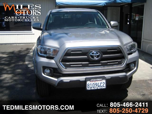2017 Toyota Tacoma SR5 Double Cab Long Bed I4 5AT 2WD