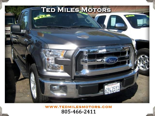 2015 Ford F-150 XLT SuperCab 6.5-ft. Bed 4WD