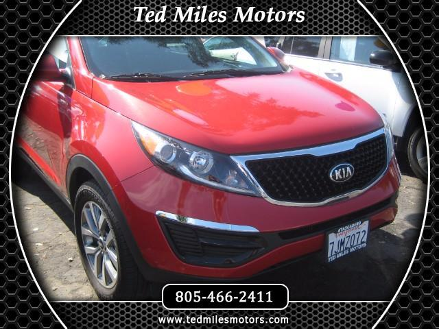 2015 Kia Sportage THIS QUALITY VEHICLE IS EXACTLY WHAT YOU WOULD EXPECT FROM TED MILES MOTORS VIN