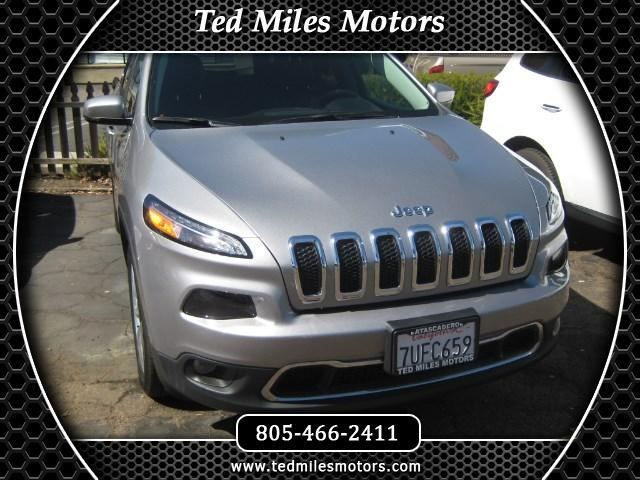 2017 Jeep Cherokee THIS QUALITY VEHICLE IS EXACTLY WHAT YOU WOULD EXPECT FROM TED MILES MOTORS VIN