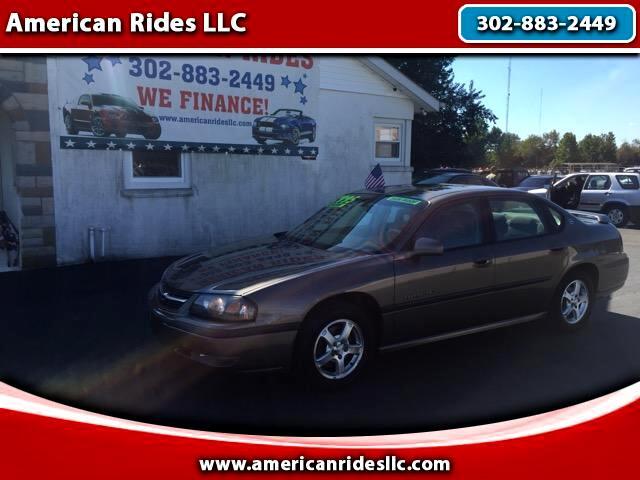 2003 Chevrolet Impala 4dr Sdn LS