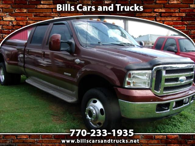 2006 Ford F-350 SD XLT Crew Cab Long Bed 4WD DRW