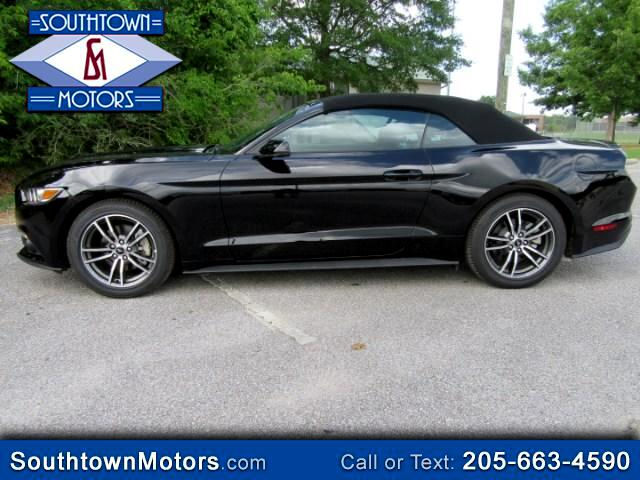 2017 Ford Mustang EcoBoost Premium Convertible