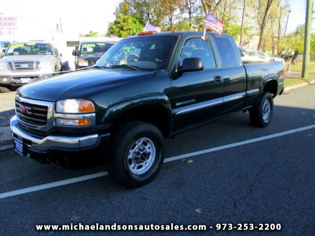 2003 GMC Sierra 2500HD Ext. Cab Short Bed