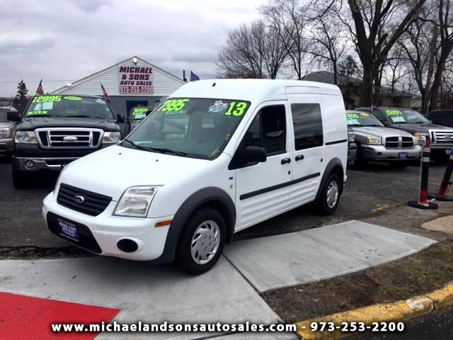 2013 Ford Transit Connect XLT with Side and Rear Door G