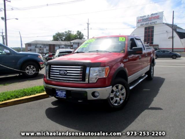 "2010 Ford F-150 SuperCrew 139"" XLT 4WD"
