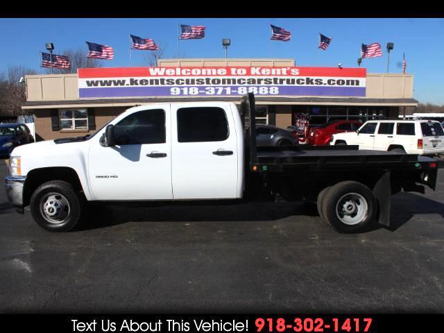 2011 Chevrolet Silverado 3500HD WT Crew Cab DRW 4WD Flatbed Truck