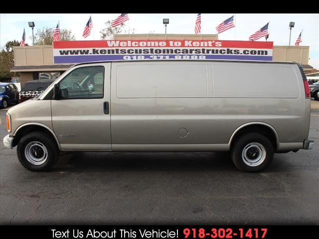 2001 Chevrolet Express 3500 Extended Cargo