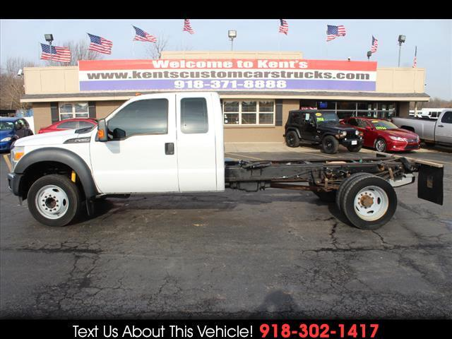 2012 Ford F-550 SuperCab DRW 2WD Cab Chassis