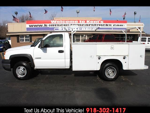 2006 Chevrolet Silverado 3500 Regular Cab DRW 2WD Service Body