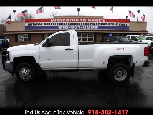 2015 Chevrolet Silverado 3500HD LT Double Cab Long Box 4WD Service Body