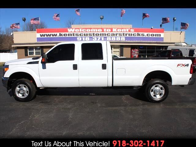 2016 Ford F-250 SD XL Crew Cab 4WD FX4 Long Bed