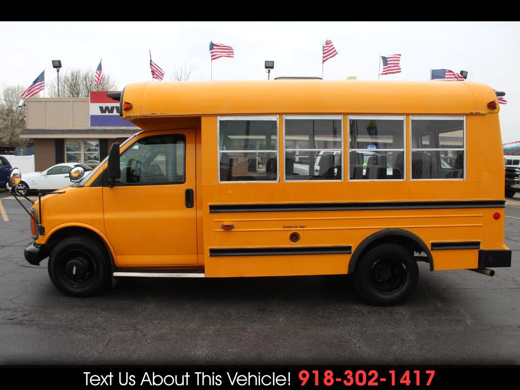 1998 Chevrolet Express G3500 School Bus