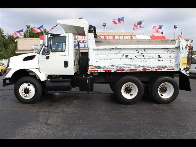2008 International 7400 Conventional Cab Dump Truck