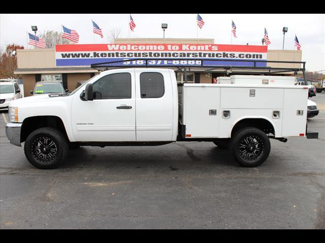 2010 Chevrolet Silverado 2500HD LT Extended Cab 4WD Utility Bed CNG